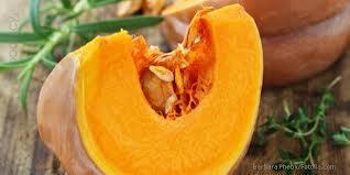 Мякоть толстая, оранжевая.