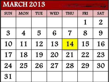 14 марта - главные приметы года.