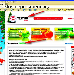 создание своего сайта